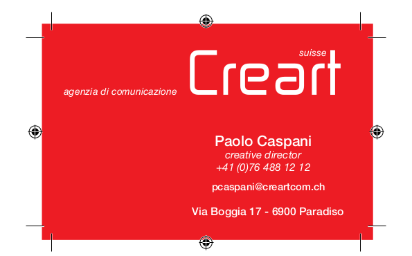Creart Communication Lugano grafica e design